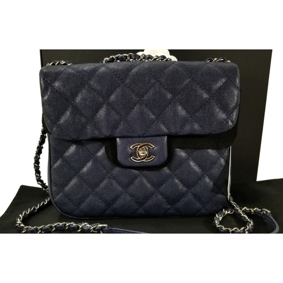 cf5a120c9b0a CHANEL Handbags - 18P CHANEL Urban Companion Quilted Caviar Flap Bag